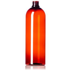 32-oz-Amber-PET-Bullet-Round-Bottle