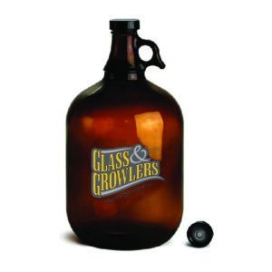 1 Gallon Glass Growler