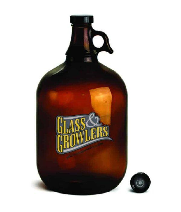 1 Gallon Glass Growler