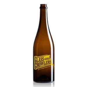 Burgundy Amber Bottle 750 ml