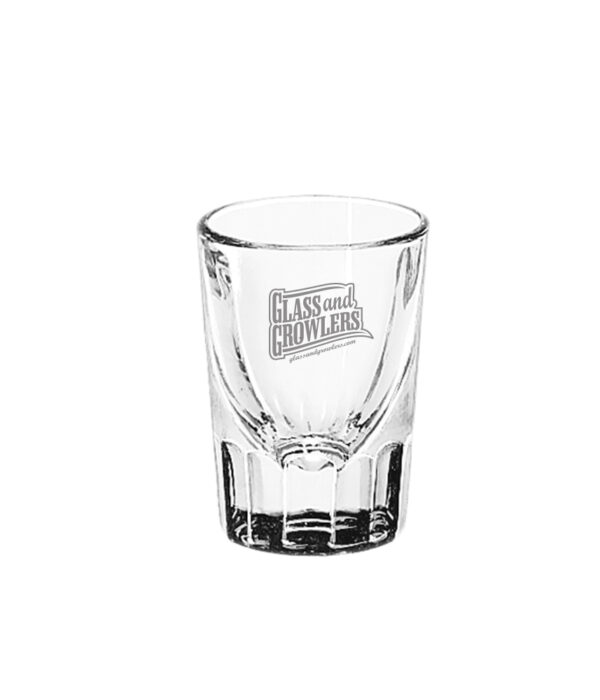Libbey 5126 - 2oz Fluted Whiskey Glass