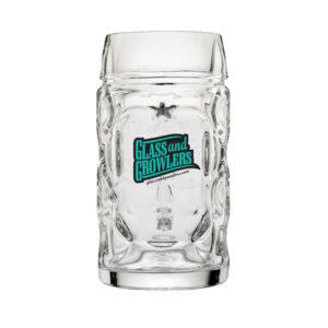 Libbey 12030021 - 1 Liter Oktoberfest Beer Mug