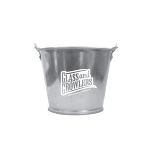 2 Quart Galvanized Metal Bucket