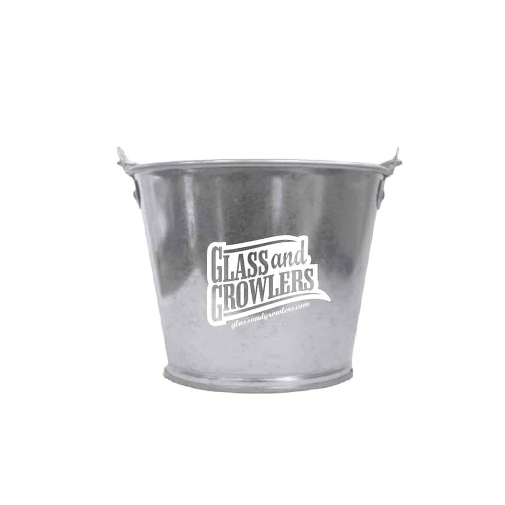 2 Quart Galvanized Metal Bucket