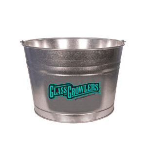 4.25 Gallon Galvenized Metal Bucket