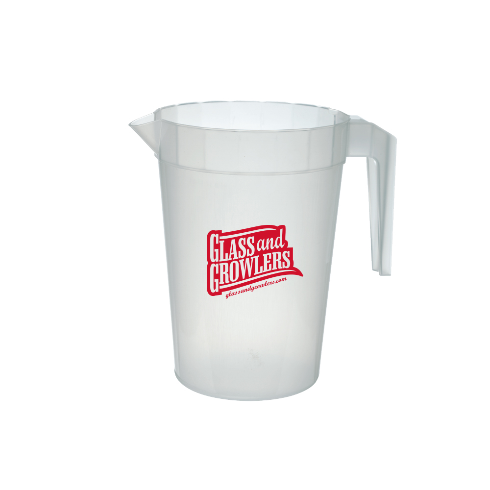 64 Oz. Translucent Plastic Stackable Pitchers