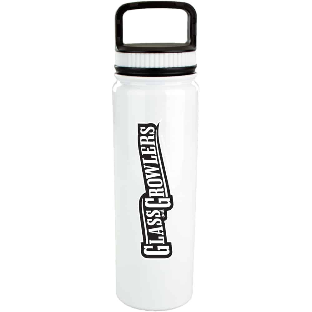 700 ml White Eugene Vacuum Bottle