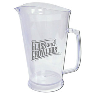 60 oz Clear Styrene Plastic Pitchers