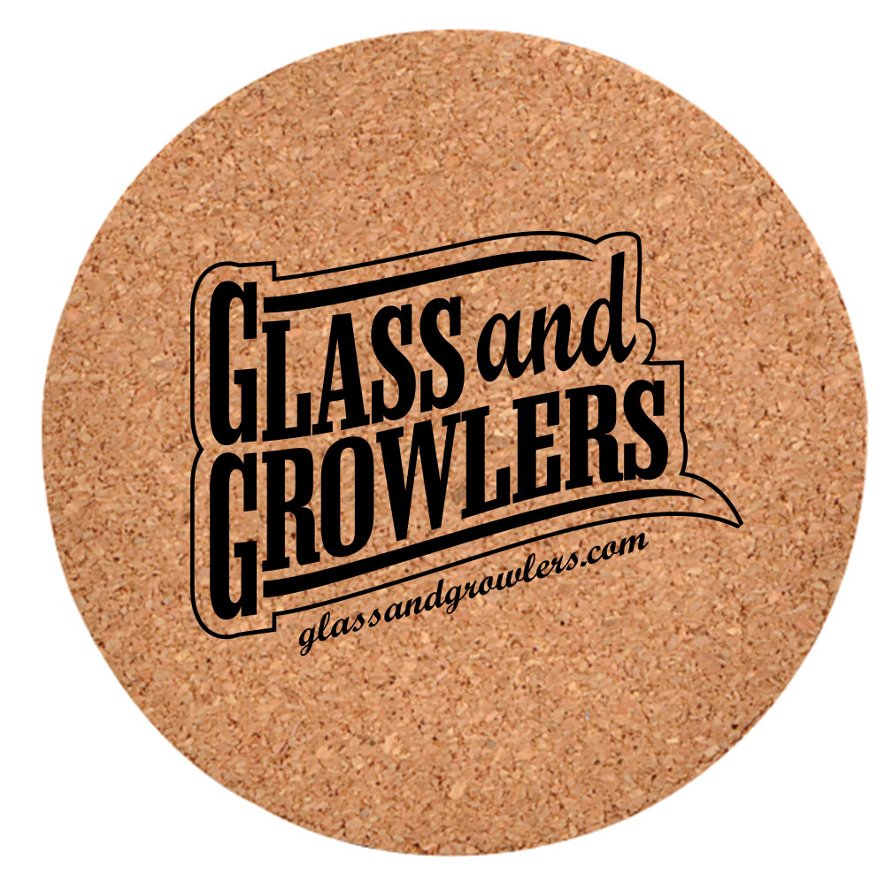 Cork Fiberboard Beverage Coasters